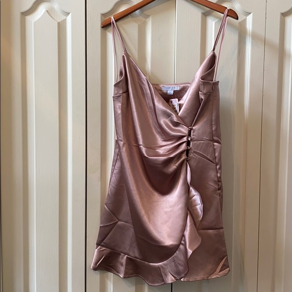 Dusty rose cami dress